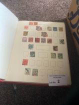 Stamps : Box of stamps, albums, sheets, PHQ's - in