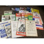 Motor Cycling : Great collection of programmes 195