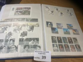 Stamps : GB modern mint commemoratives in stock bo