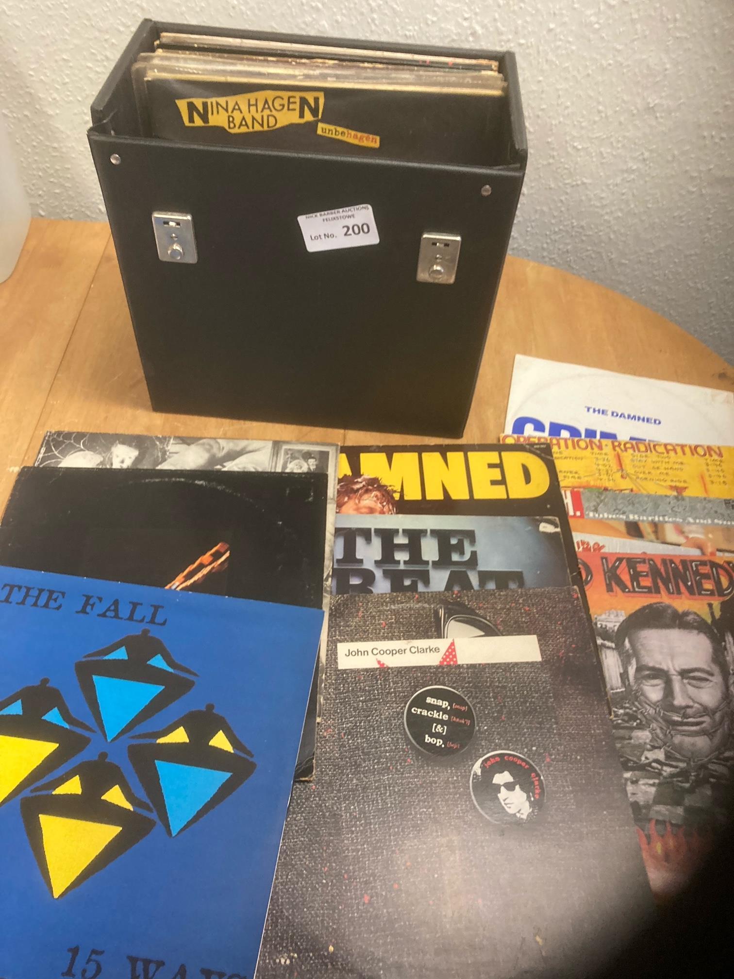 "Records : 30+ Punk albums & 12"" singles - inc Damn"