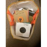 """Records : A large bag of 250 7"""" singles various ar"""