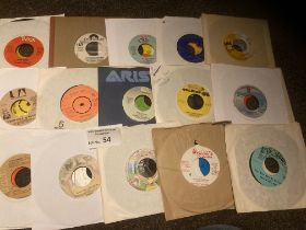 """Records : Northern Soul 35 7"""" singles - mixed cond"""