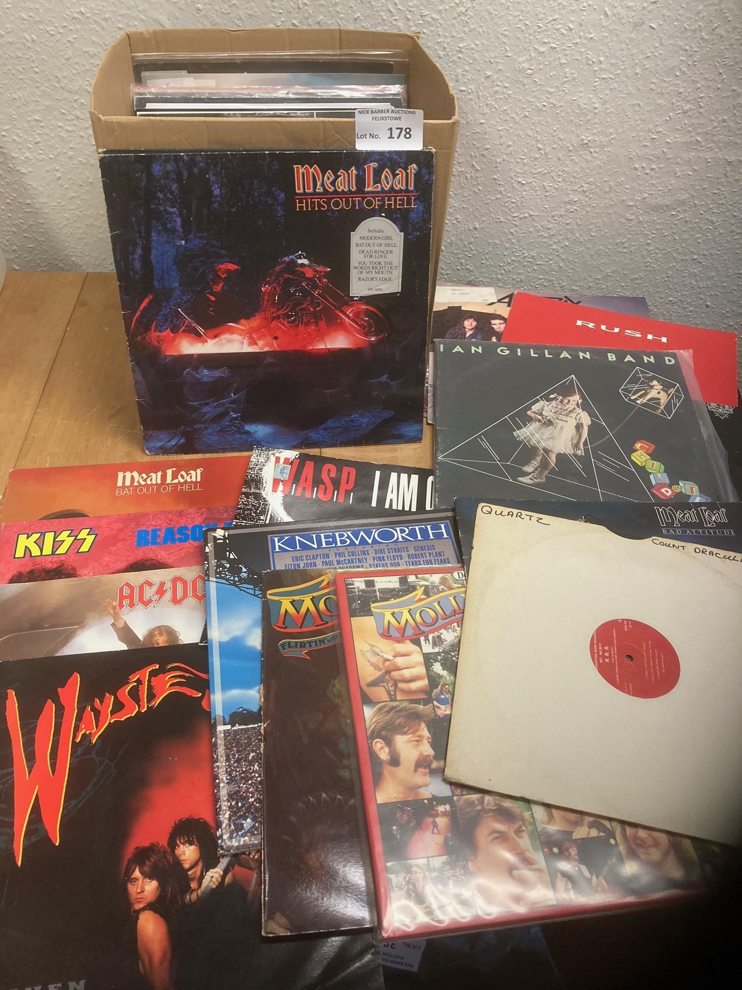 "Records : 30+ Heavy Metal 12"" singles/albums inc W"