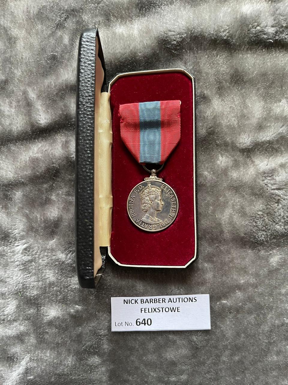 Militaria : Imperial Service Medal for Faithful Se