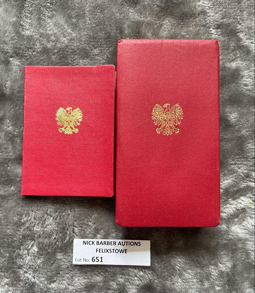Militaria : Poland Polonia Restitvta 1944 Medal in - Image 3 of 3