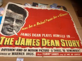 Records : Poster - The James Dean Story film poste