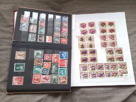 Stamps : Box which includes fine Stockbook of goo