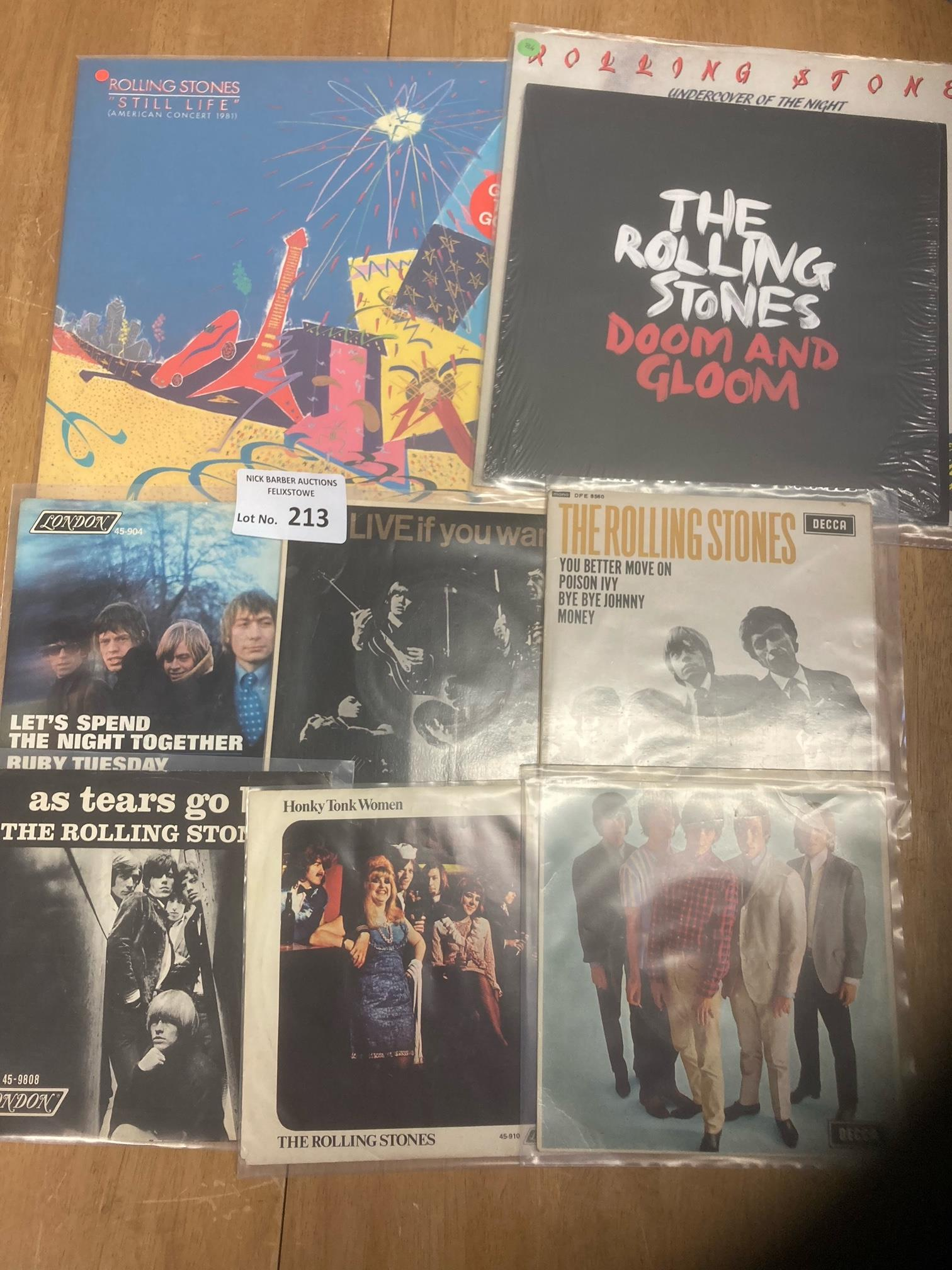 Records : ROLLING STONES selection all great cond.