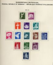 Stamps : Germany West A Mint/Used Collection in S