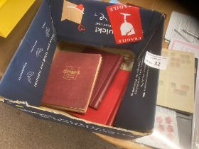 Stamps : Large box of stamps, albums, loose etc
