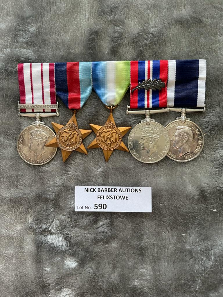 Militaria : Group of 5 chief engine room Artificer