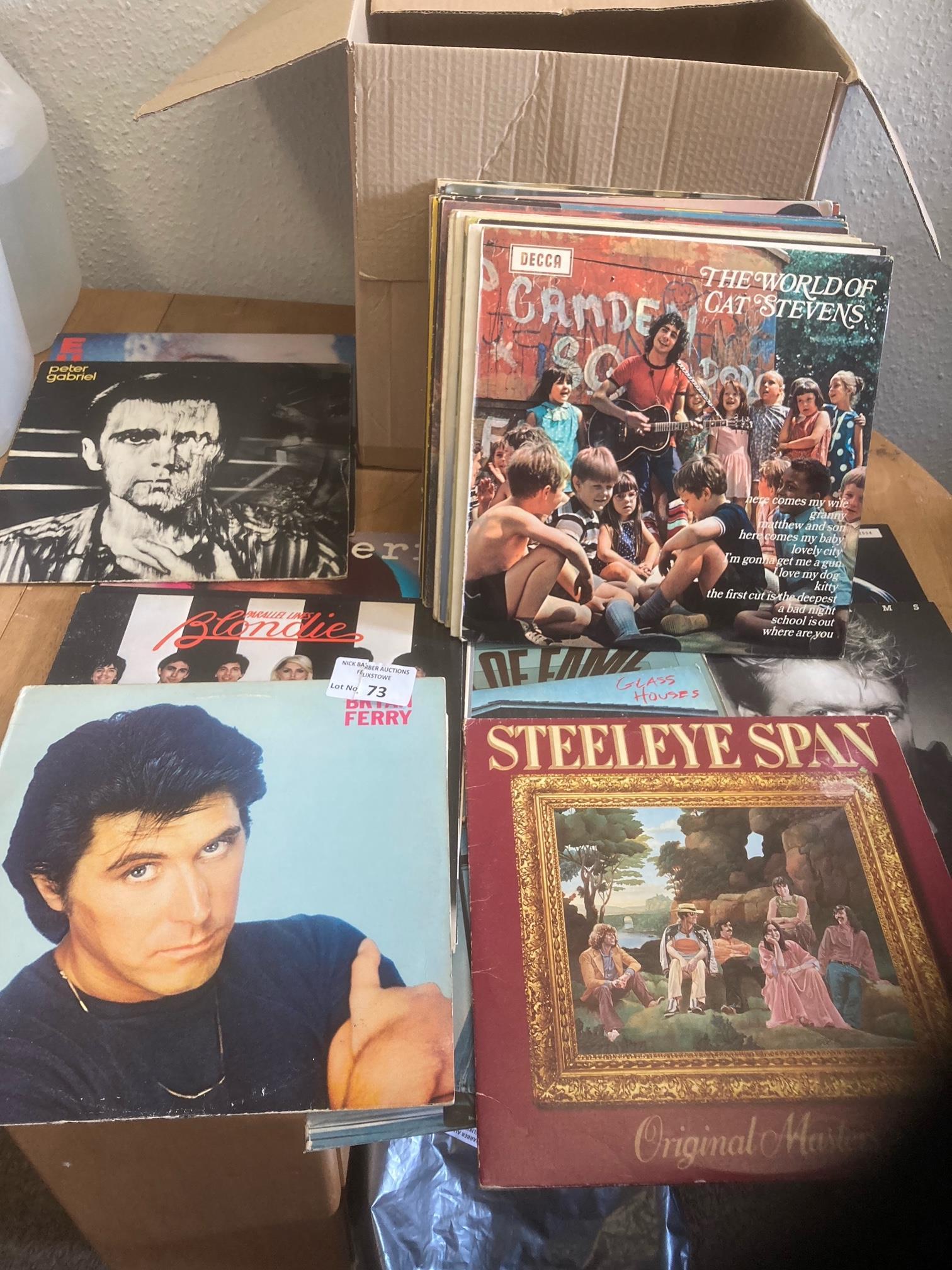 Records : 40 Classic Rock albums inc B. Ferry, B.