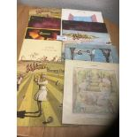 Records : GENESIS collection of 10 albums all look