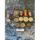 Militaria : 10x Queen Victoria Coronation & Jubile