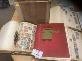 Stamps : Good all WORLD stamp collection in 4 heav