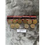 Militaria : 10x German merit medals - cond GVF