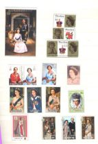Stamps : Great Britain Small sel of mainly Pre De
