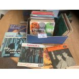 Records : Nice box of EP's inc Rolling Stones, Eve