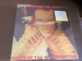 Records : ADAM & THE ANTS - Kings of the Wild Fron