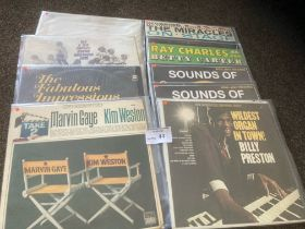 Records : Soul - American issue albums inc Impress