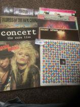 Records : Punk / New Wave / Rock - 9 original pres