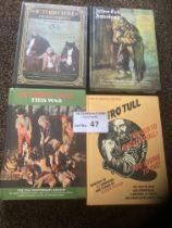 Records : JETHRO TULL - CD box sets (4) super lot