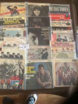 "Records : EPs - lovely lot of 7"" EPs inc Farlowe,"