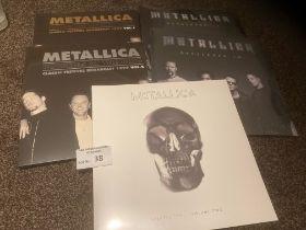 Records : METALLICA - 180g albums inc Festival Bro