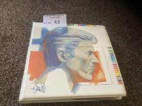 Records : DAVID BOWIE - Fashions Folder x10 pictur
