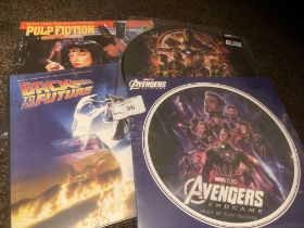 Records : Soundtrack issues inc Pulp Fiction, Back