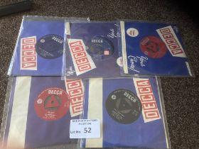 "Records : Rare 7"" singles - Rhodesia/S. Africa"