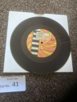 "Records : FRANK WILSON - Do I Love You 7"" - Acetat"