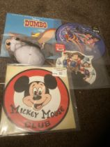 Records : Disney - modern vinyl inc Dumbo. Snow Wh