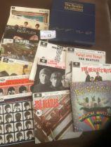 Records : BEATLES - EP collection 1981 - box set 1