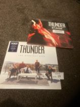 Records : THUNDER - 180g modern albums - The Great