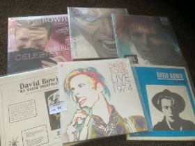 Records : DAVID BOWIE - super collection of albums