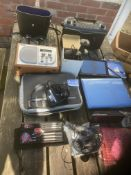 COLLECTIBLES: Various electrical/leisure items. In
