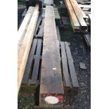 One Oak beam 8'' x 6'' x 96'' long.