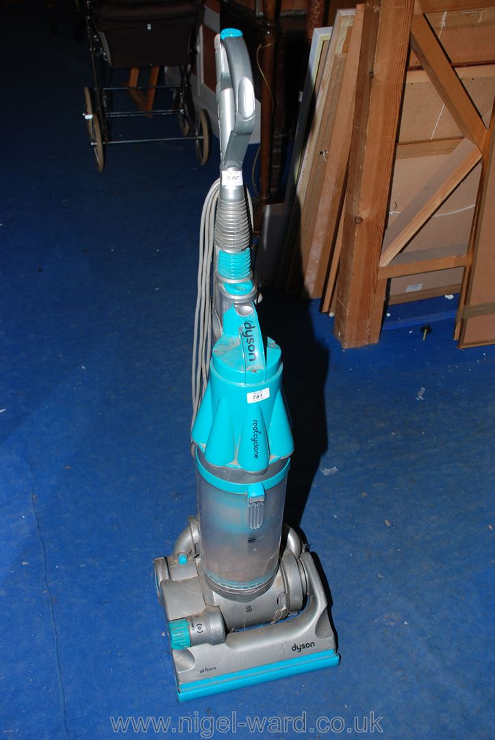 """A """"Dyson DC07"""" vacuum cleaner, (handle a/f."""