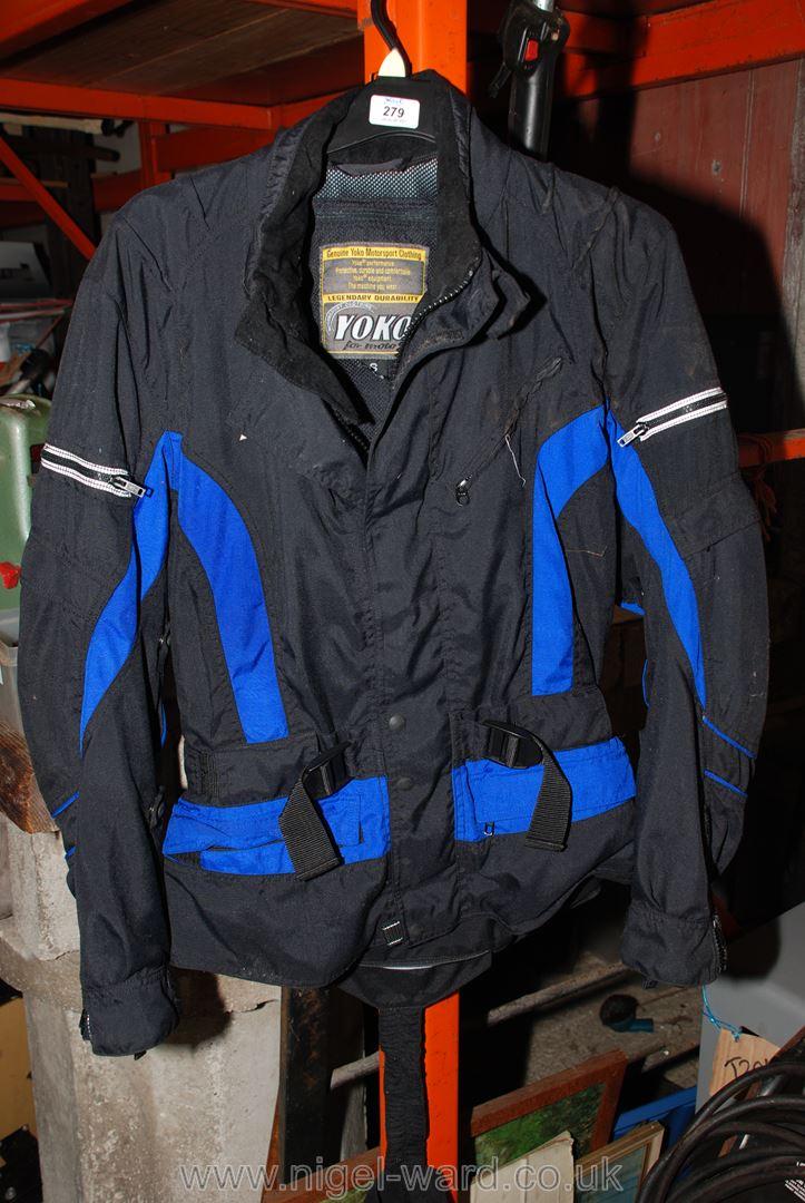 A Yoko motorcycling jacket, (S-EU 48).