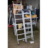 Sectional ladder 115'' long
