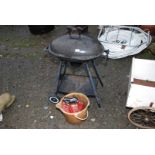 A kettle BBQ etc.