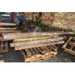 Quantity of used timber.