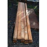 40 lengths of softwood timber 3'' x 1/2'' x 94'' long.