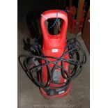 "A ""Sealey"" electric pressure washer."