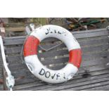 Ship's life buoy ring
