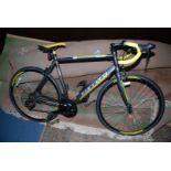 "A lightweight ""Carrera 6061 T6 Tour-de-France Ltd-Edition"" Aluminium framed racing bicycle with 14"