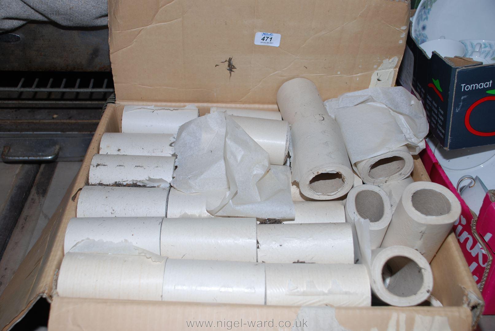 A box of vintage single-ply toilet tissue.