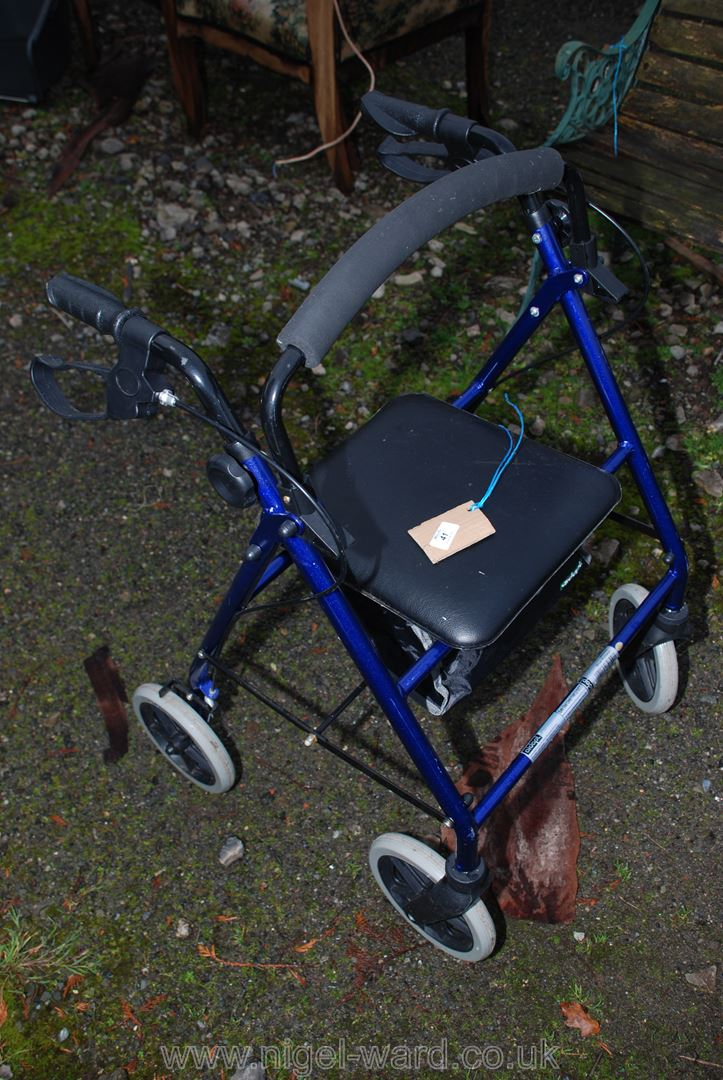 Disabled walking aid