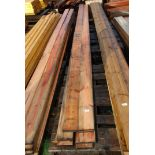 20 lengths of boards 5'' x 1/2'' x 177'' long.